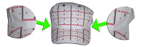 GT Cap Platen Test Print Grid