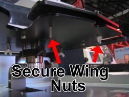 GT Cap Platen Riser Wing Nuts