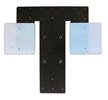 Touchdown Platen Two Square Inserts
