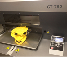 GT Cap Platen on GT-782 Printer