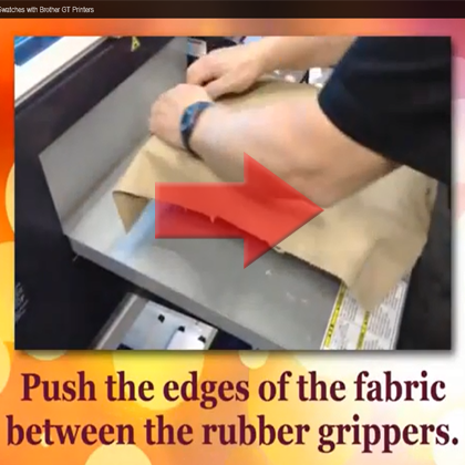 Gripper Kit for Printing on Fabric