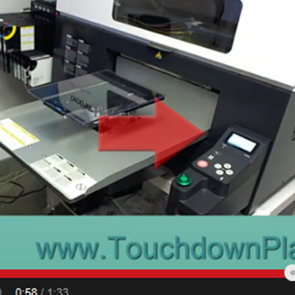 Touchdown Kit Youth Platen Insert